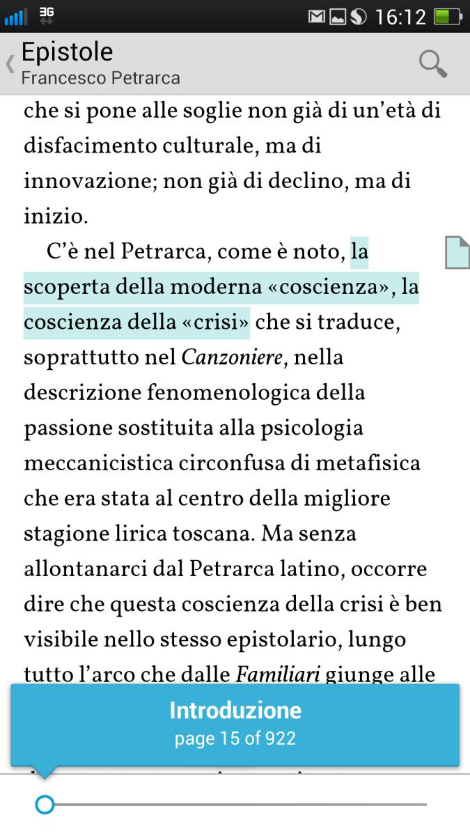 Mobiler Viewer: Petrarca